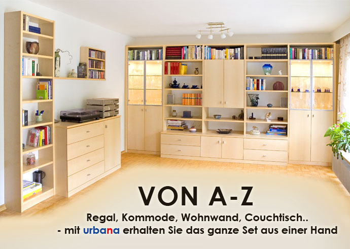 wohnzimmerschr nke urbana m bel. Black Bedroom Furniture Sets. Home Design Ideas
